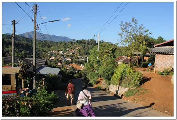 Hmong Village, Around Mae Hong Son